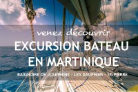 Excursion bateau en Martinique