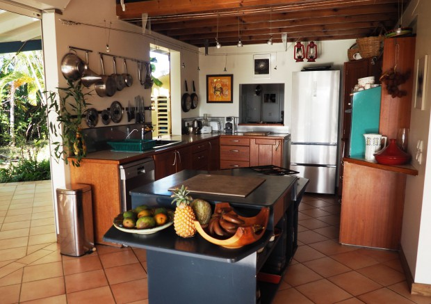 Villa 5704 gosier guadeloupe campagne for Cuisine ouverte guadeloupe