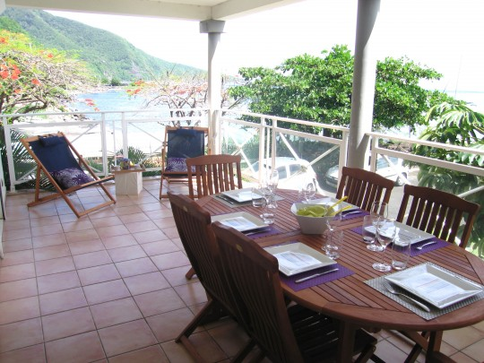 Appartement Guadeloupe - Ref 2619 - terrasse