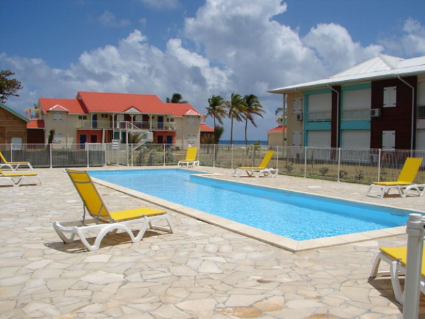 Appartement Guadeloupe - Ref 6642 - PISCINE PRINCIPALE DE CRYSTAL-BEACH