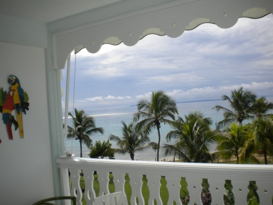 Appartement Guadeloupe - Ref 2638 - vue lagon