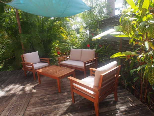 Appartement Guadeloupe - Ref 5924 - jardin