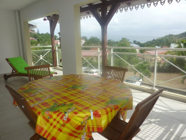 Appartement la tortue karet anse l 39 ane martinique for Appartement en location