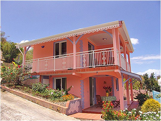 Appartement paradijoce anses d 39 arlet martinique bord de mer for 972 martinique location maison