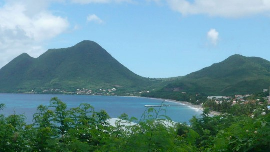 Le Diamant et son Morne Larcher
