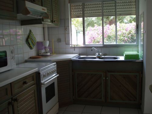Appartement Guadeloupe - Ref 406 - cuisine