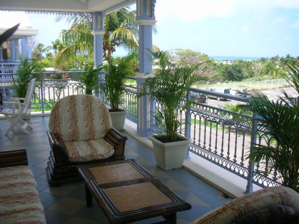 Appartement Guadeloupe - Ref 1048 - Terrasse vue mer