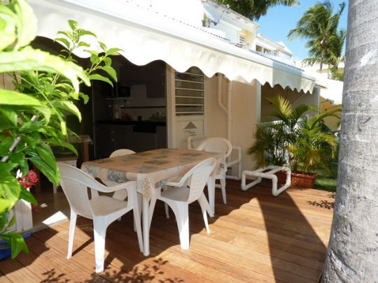 Appartement Guadeloupe - Ref 2222 - deck sur marina