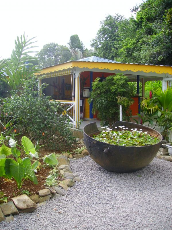 Bungalow 875 petit bourg guadeloupe for Au jardin tropical guadeloupe