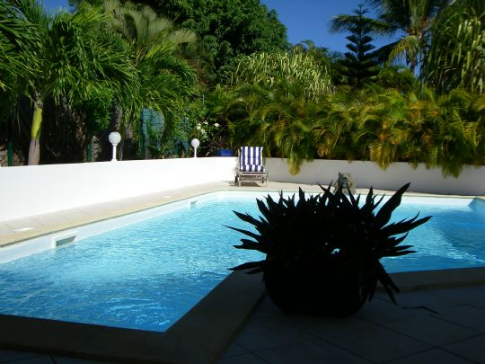 Villa de luxe villa coquillages saint fran ois guadeloupe for Piscine coquillage
