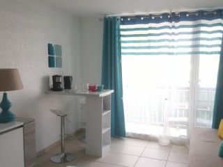 Location Appartement Guadeloupe - un coin repas