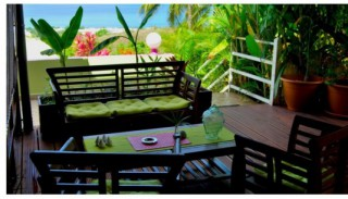 Location Appartement Guadeloupe - parties communes (wifi zone)