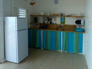 Location Appartement Guadeloupe - coin cusine