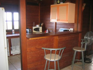 Location Appartement Guadeloupe - Cuisine, bar