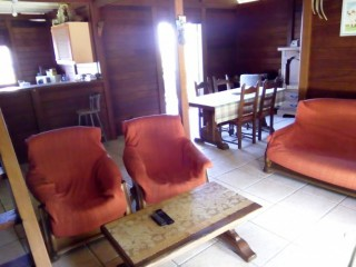Location Appartement Guadeloupe - Salon, salle a manger