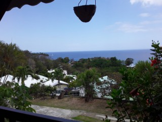 Location Appartement Guadeloupe : vue mer, internet