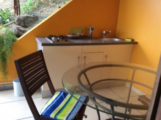 Kitchenette/terrasse