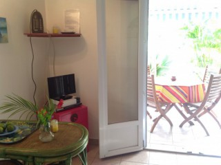 Location Appartement Guadeloupe - coin tv