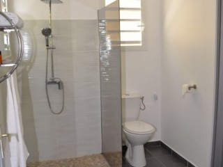 Location Appartement Guadeloupe - Salle de bain spacieuse