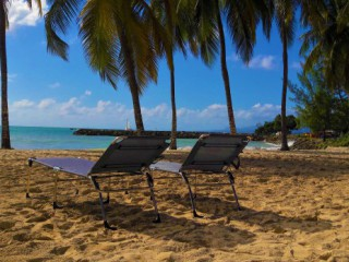 Location Appartement Guadeloupe : vue mer, clim, internet