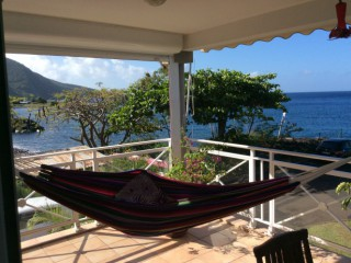 Location Appartement Guadeloupe - Hamac sur terrasse