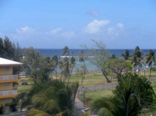 Location Appartement Guadeloupe : vue mer, climatisation