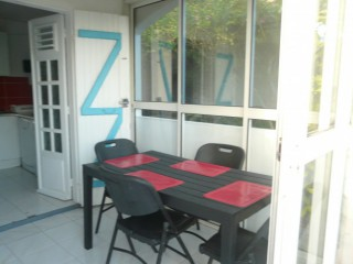 Le turquoise : Appartement Guadeloupe