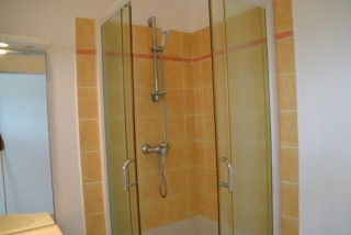 Location Appartement Guadeloupe - Appt Crystal 88, la douche