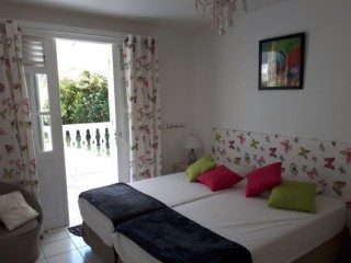 Location Appartement Guadeloupe - Chambre 2 lits