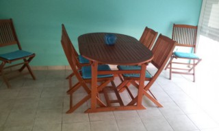 Location Appartement Guadeloupe - coin repas