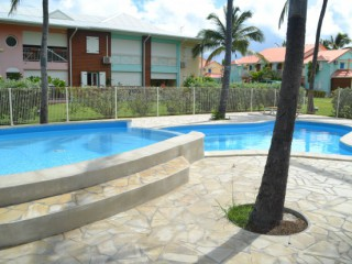 Location Appartement Guadeloupe - 2eme piscine de la résidence Crystal Beach