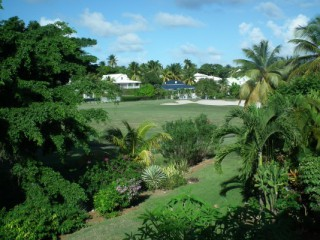 Location Appartement Guadeloupe - Golf vu du balcon