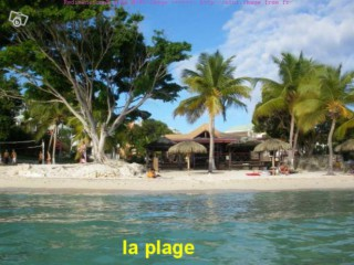 la plage privative du domaine