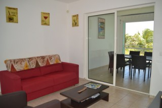 Location Appartement Guadeloupe - Le salon