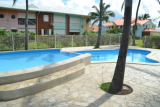 Location Appartement Guadeloupe - Piscine Crystal Beach  Petit Bassin