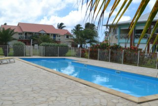 Location Appartement Guadeloupe - Piscine Crystal Beach  Grand Basin