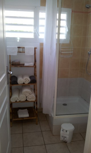 Location Appartement Guadeloupe - Sdb