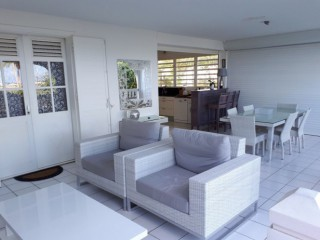 Location Appartement Guadeloupe - Terrasse accès plage
