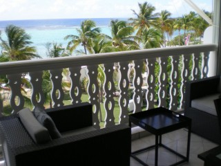 Location Appartement Guadeloupe - Terrasse vue mer