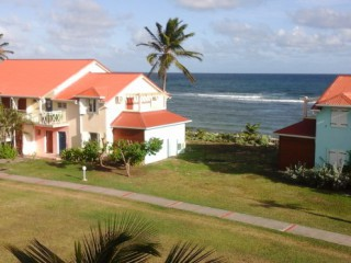 Location Appartement Guadeloupe - Vue mer coin repas