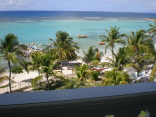 Location Appartement Guadeloupe - vue mer et plage