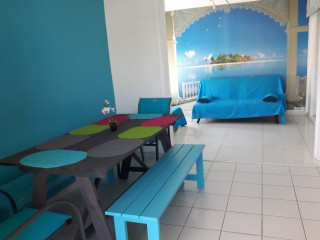 Location Appartement Guadeloupe - Blue Raccoon salon