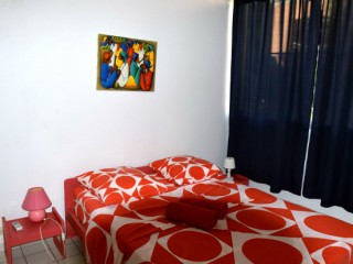 Location Appartement Guadeloupe - chambre climatisée