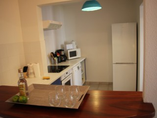 Location Appartement Guadeloupe - La kitchenette