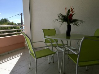 Appartement Sainte-Anne: La terrasse