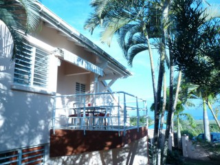 6991, APPARTEMENT Guadeloupe: vue mer, climatisation