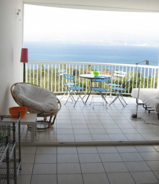 Location Appartement Martinique : vue mer