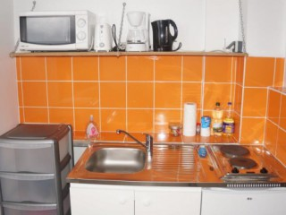 Location Appartement Martinique - Kitchenette (Studio Pierre, T2  Anna  ou  Elise )