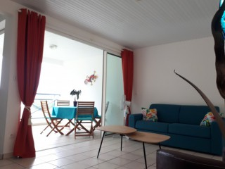 T2 face au rocher : Appartement Martinique