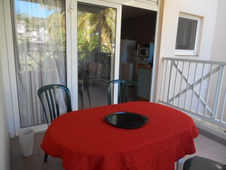 Location Appartement Martinique - la terrasse